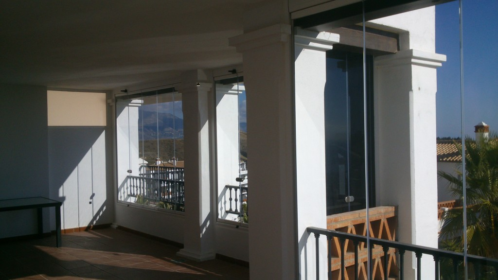 Glass Curtains, Costa Del Sol, Mijas Costa, Cadiz, Puerto Banus, Spain